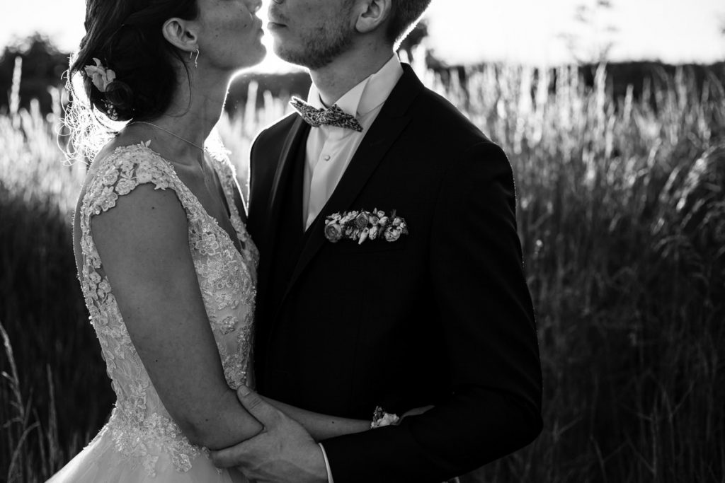 couple picture in black and white