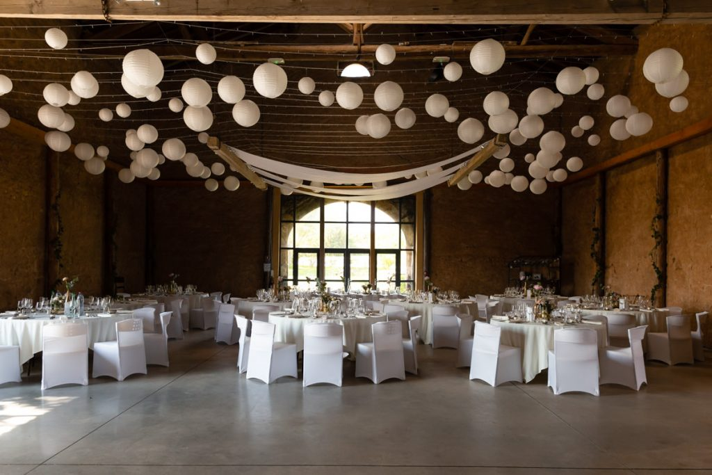 wedding reception decoration glatigny